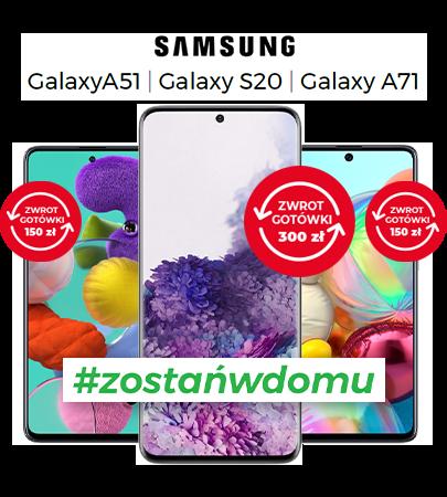 Nawet 300 zł do odbioru za zakup wybranych modeli Samsung Galaxy