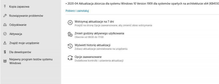Windows 10 - co po aktualizacji Maj 2020?