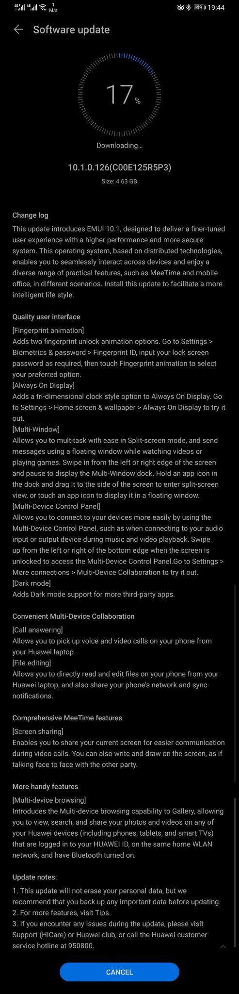 Huawei EMUI 10.1 - oto wszystkie nowości!