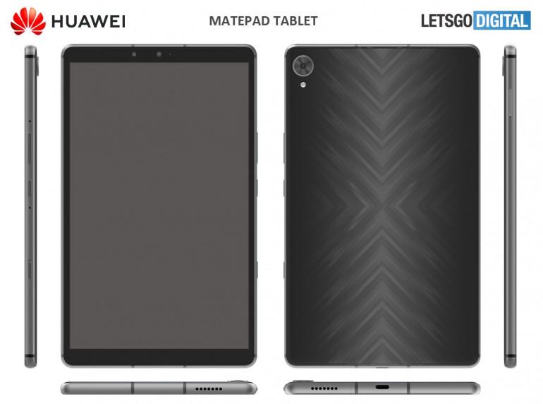 Huawei projektuje MediaPad T z holograficzną obudową i głośnikami stereo