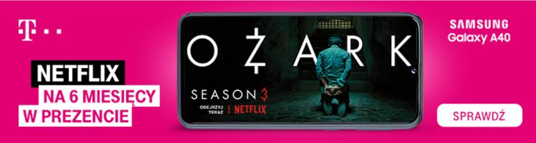 Netflix za darmo przez 6 miesięcy - w prezencie od T-Mobile