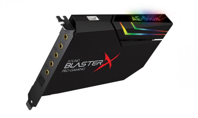 Sound BlasterX AE-5 PLUS - nowa karta dźwiękowa na rynku