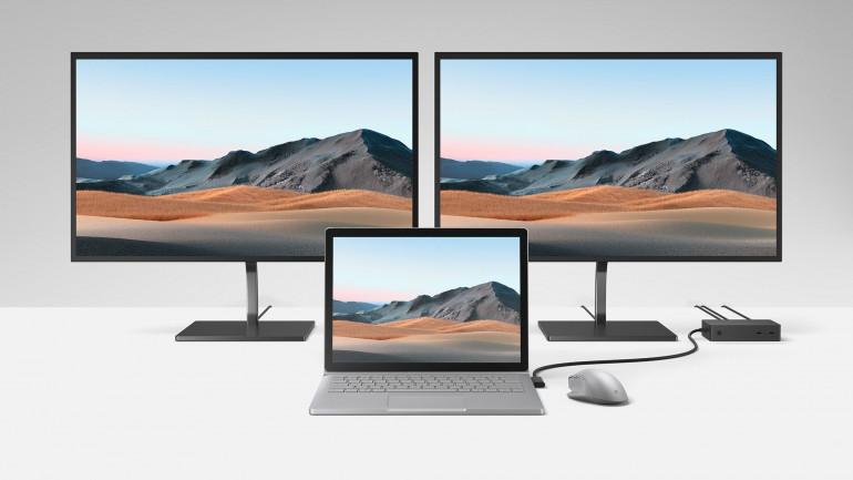 Microsoft przedstawia: Surface Go 2, Surface Book 3, Surface Headphones 2, Surface Earbuds oraz Surface Dock 2