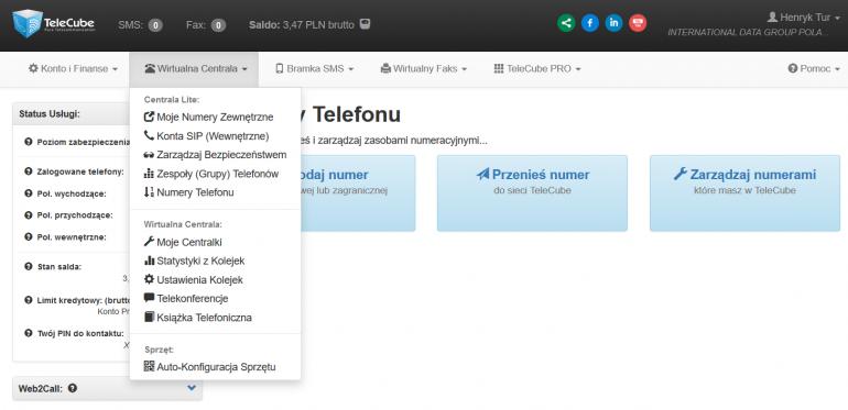 TeleCube - wirtualna telefonia dla firm