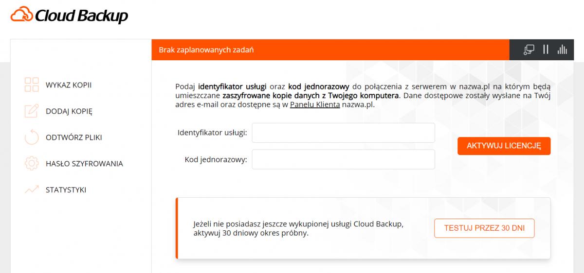 Nie bądź łoś i zabezpiecz dane z komputera w Cloud Backup. Teraz przez 30 dni bez rejestracji konta
