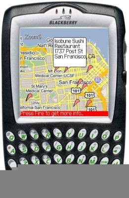 Google Maps w telefonie