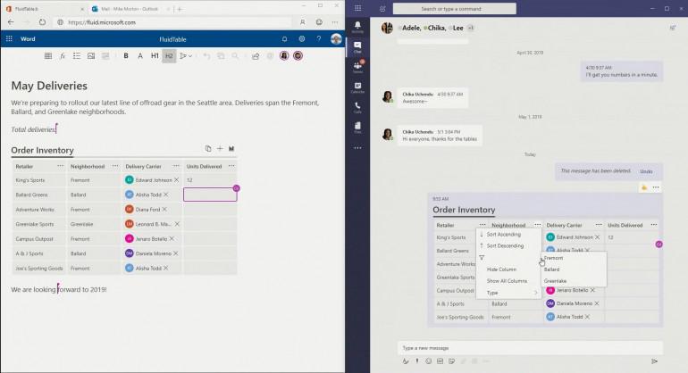 Microsoft zdradza przyszłość Office: Project Cortex i Fluid Framework