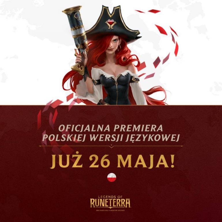 Legends of Runeterra - karcianka od Riot Games już niebawem w polskiej wersji językowej