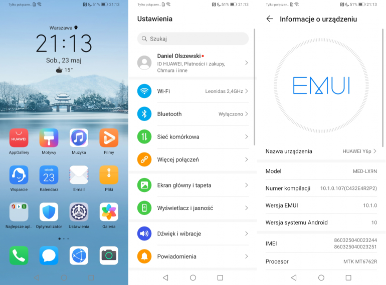 Test Huawei Y6p - smartfona, który nie potrzebuje usług Google