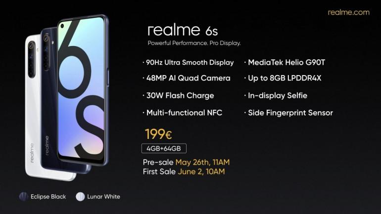 Oto nowy Realme 6s - ciekawsza i tańsza wersja Realme 6