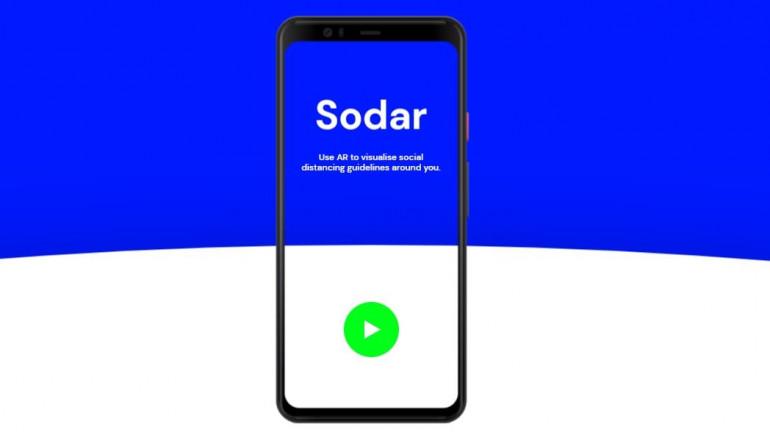 Google wizualizuje dystans społeczny za pomocą AR