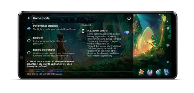 Sony Xperia 1 II pozwoli grać bez wyczerpywania baterii