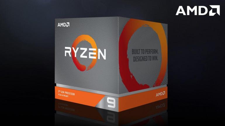 Opakowanie procesora AMD Ryzen 9