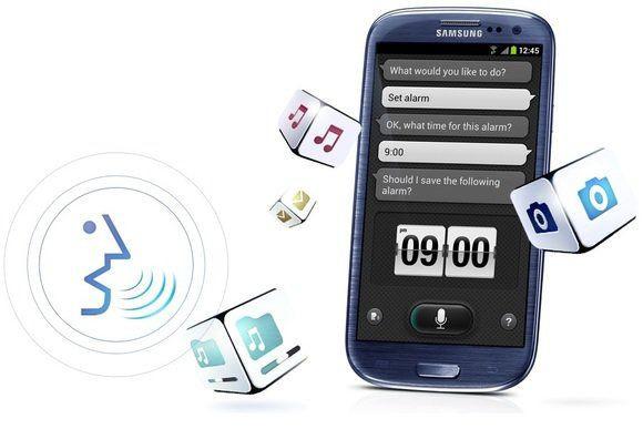 S Voice na Galaxy S III