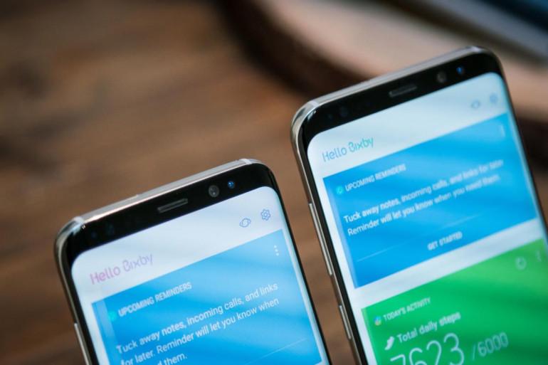 Bixby na Galaxy S8