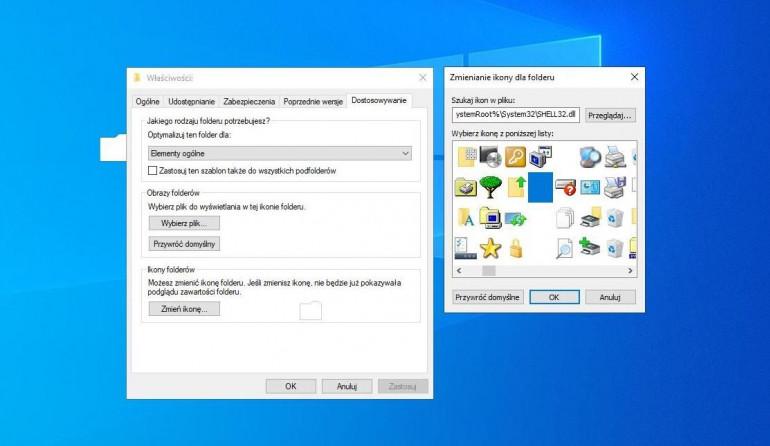 Windows 10 - jak stworzyć niewidzialny folder?