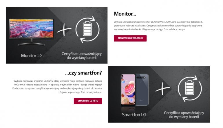 LG Gram 2020 - nowe procesory i monitor/smartfon w gratisie
