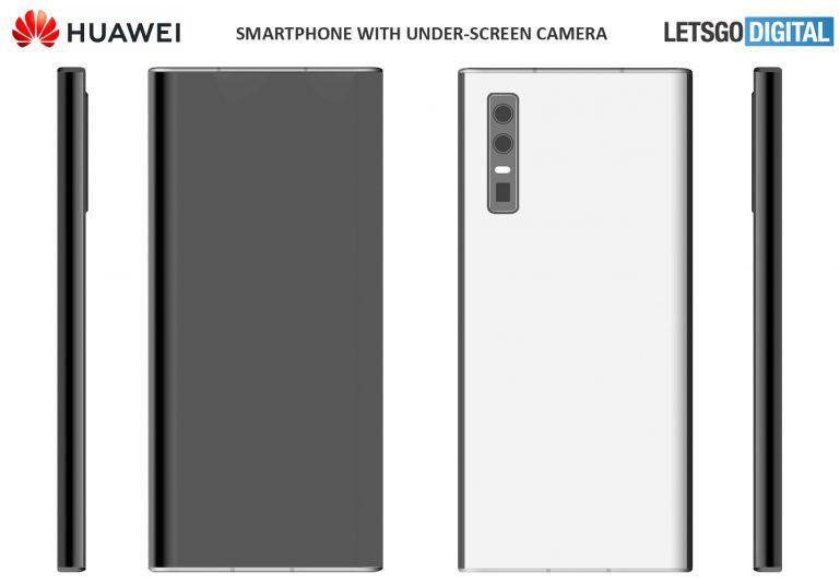 Smartfon z niewidoczną kamerką do selfie? Huawei ma na to patnet