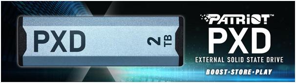 Patriot zapowiada PXD M.2 PCIe Type-C - zewnętrzny dysk SSD PCIe nowej generacji