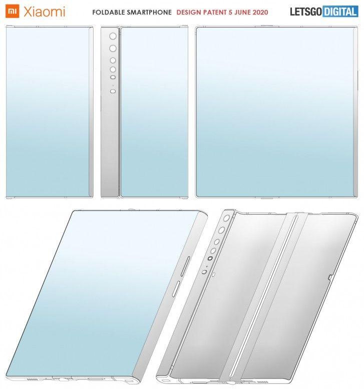 Xiaomi patentuje smartfon podobny do Huawei Mate X