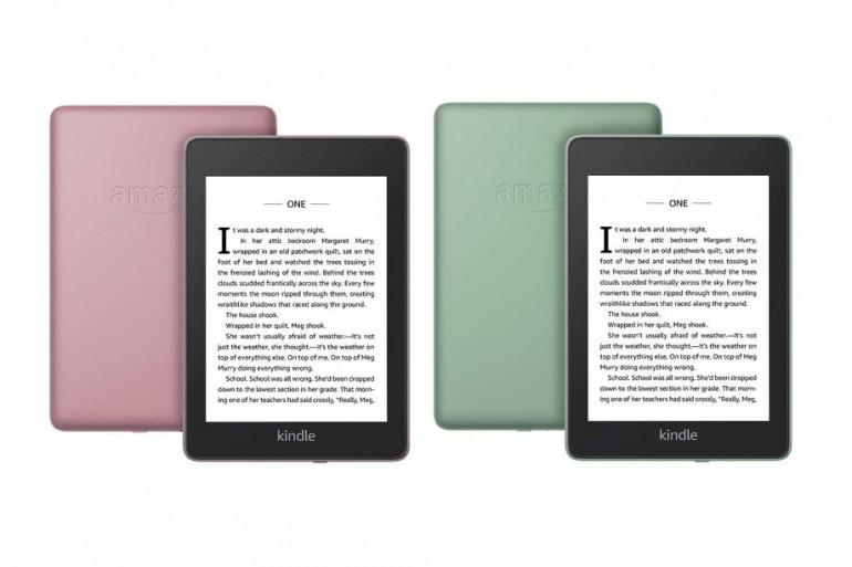 Nowe wersje kolorystyczne Kindle Paperwhite