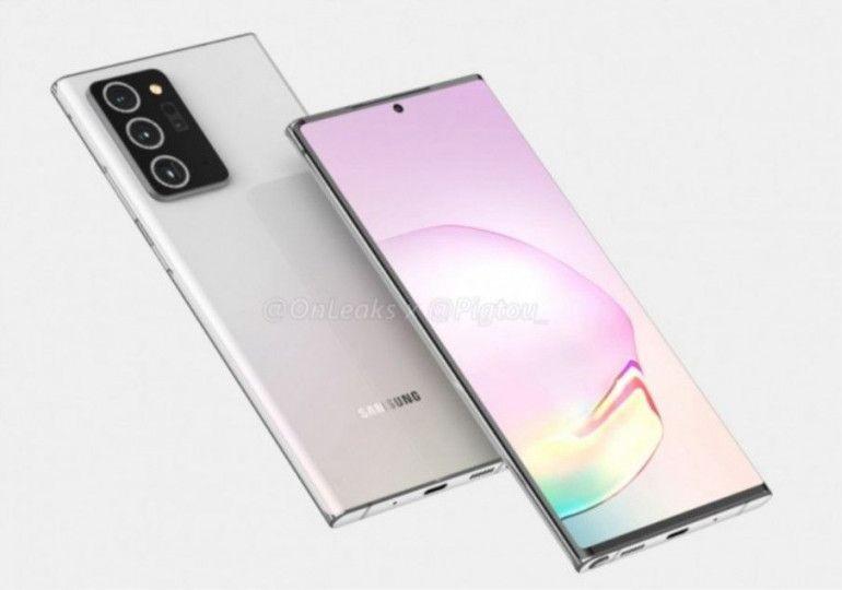 Samsung Galaxy Note 20 Źródło: OnLeaks