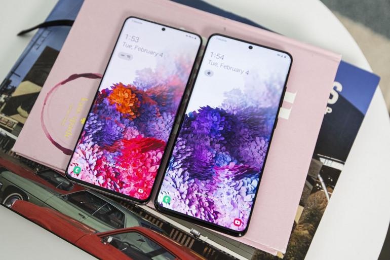 Samsung Galaxy S20 Źródło: PCWorld.com