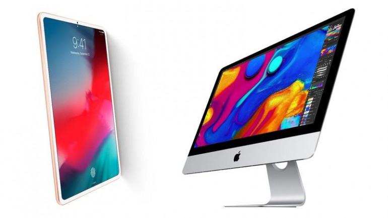 iPad Pro 12,9 i iMac  Źródło: macrumors.com