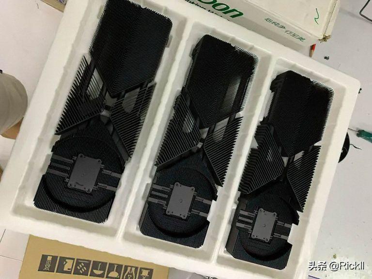 Chłodzenie Nvidia GeForce RTX 3080 Źródło: videocardz.com