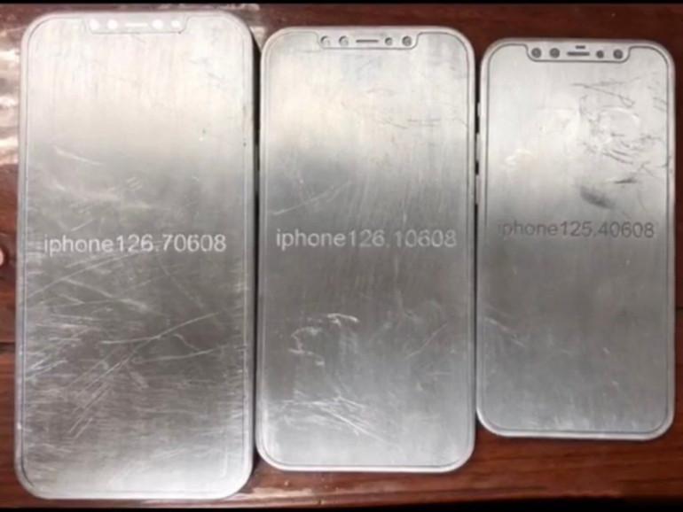Modele iPhone'a 12 Źródło: Twitter