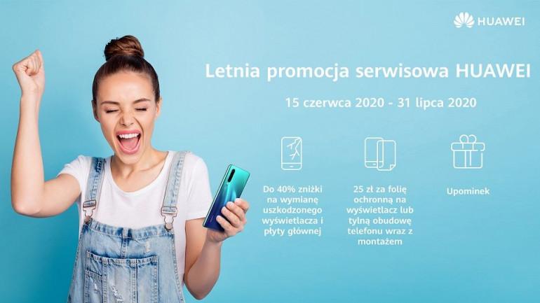 Letnia promocja serwisowa Huawei