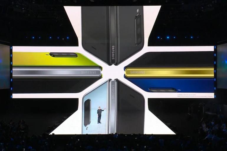 Prezentacja Samsunga Galaxy Fold, luty 2019