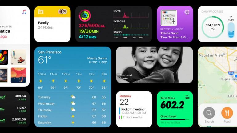 iOS 14 widżety