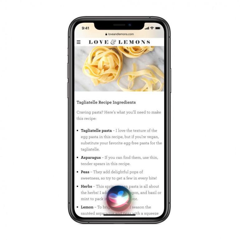 Odświeżony interface Siri