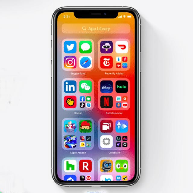 Menu aplikacji