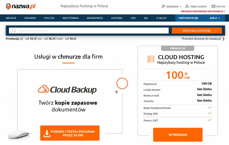 Firma nazwa.pl startuje z nowym Programem Partnerskim. Do zgarnięcia 50% od pierwszej wpłaty i do 35% od opłaty za odnowienie usług.