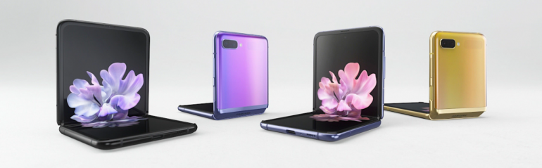 Smartfon Samsung Galaxy Z Flip w wersji z modemem sieci 4G LTE