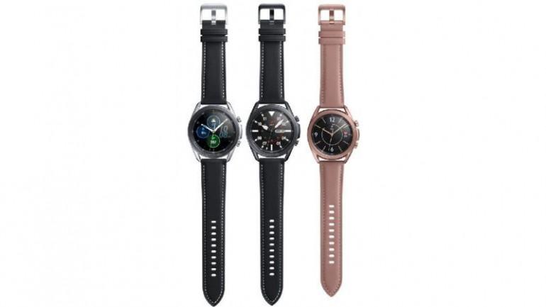 Samsung Galaxy Watch 3 w trzech wersjach kolorystycznych