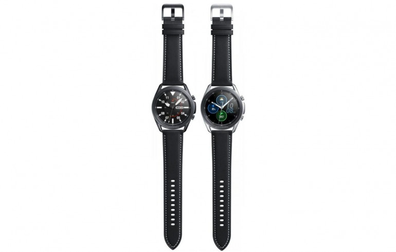Samsung Galaxy Watch 3 w kolorze czarnym