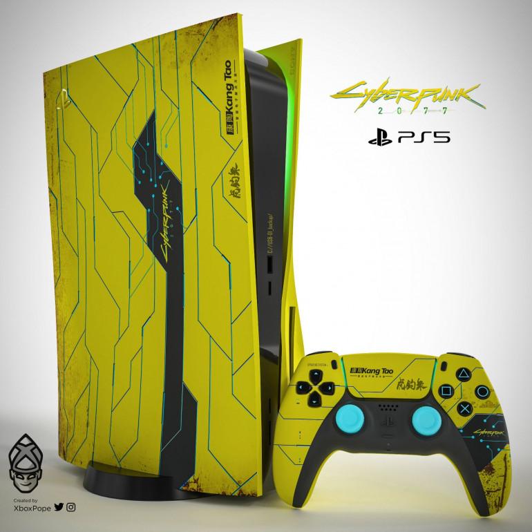 PlayStation 5 Cyberpunk 2077