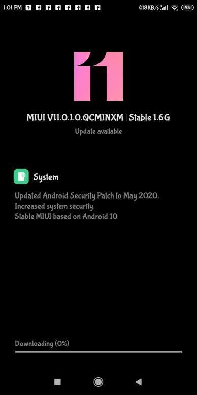 Aktualizacja do Androida 10 dla Redmi 7A