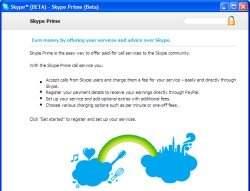 Dzięki Skype Prime każdy może zarabiać na rozmowach przez Internet.