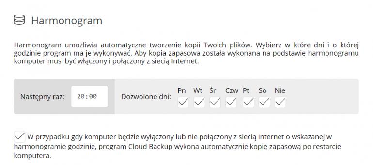 Nie ma nic lepszego, niż backup w chmurze. Cloud Backup robi świetną robotę*