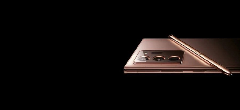 Rendery Galaxy Note 20 Ultra z ukraińskiej strony Samsunga