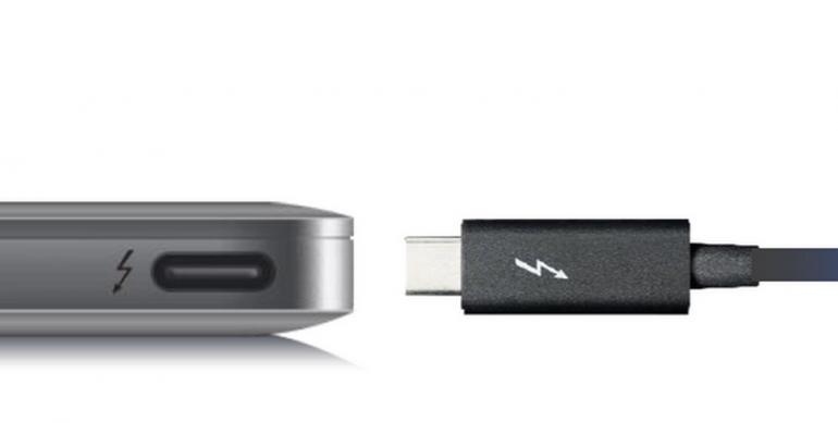 Thunderbolt 3 wykorzystuje USB Typu C