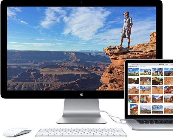 MacBook Pro z Thunderbolt 2 i Thunderbolt Display