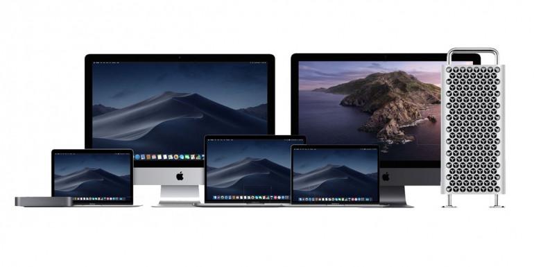 Gama modelowa komputerów Mac na 2020 rok