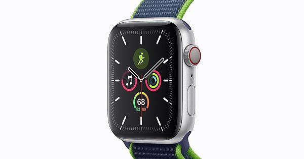 Apple Watch Series 5 z paskiem sportowym