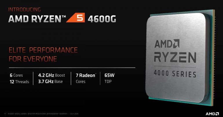 AMD Ryzen 5 4600G