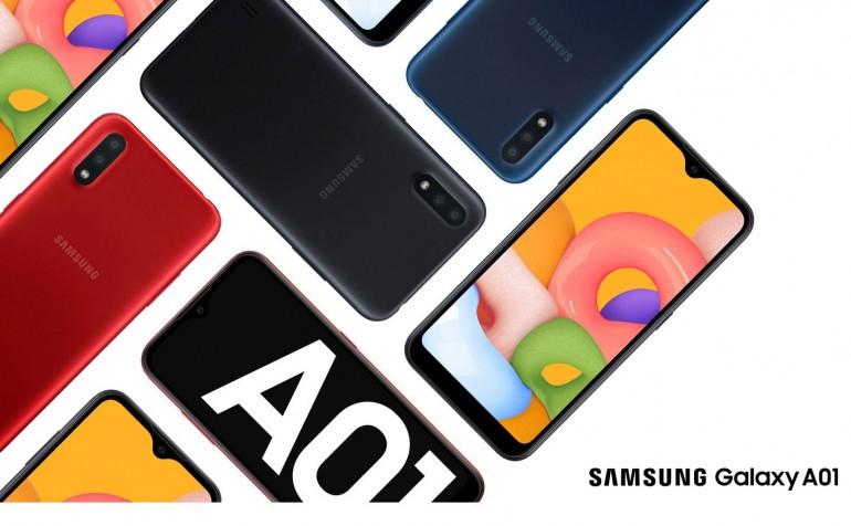 Samsung Galaxy A01 - tani smartfon z Androidem z 2 GB RAM'u
